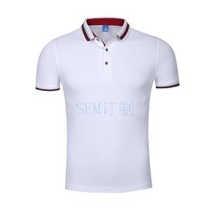 短袖t恤活动衫有领针织服 厂服