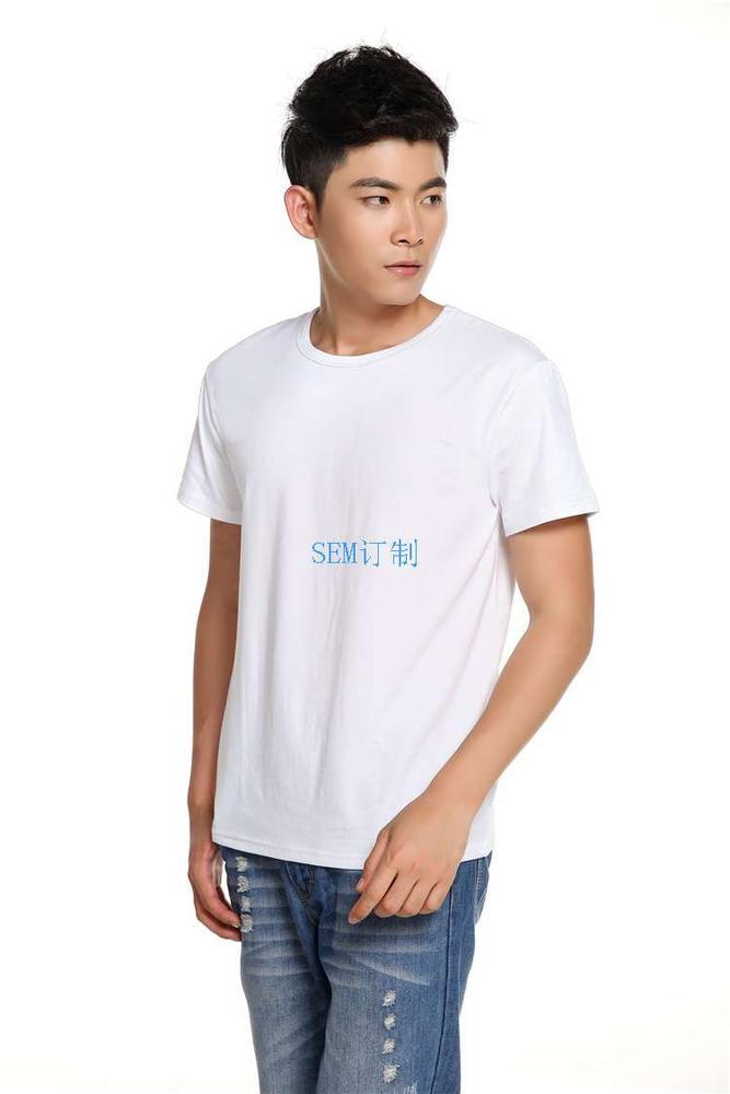 莱卡圆领T恤