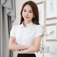 修身职业装衬衫办公室工作服|春夏新款女式工衣
