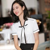 白色衬衫工作服时尚款工衣