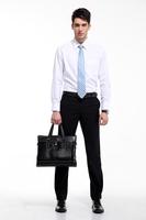 盛勉长袖口袋款高品质职业衬衫多色选